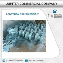 Specially Designed Centrifugal Spot Humidifier with High Speed Electric Motor