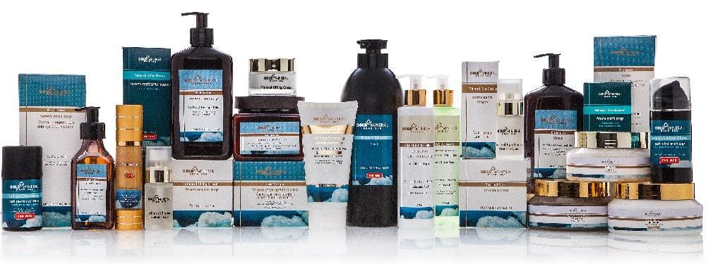 Gold Mineral Dead Sea Professional Skin Care Series
