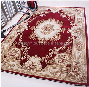 Machine Washable polysilk carpet