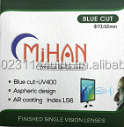 MIHAN 1.56 Hard Multi Coated Blue Cut Lens