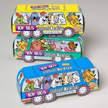 ANIMAL CRACKERS TOY BUS 1.75 OZ IN SHIPPER #000361