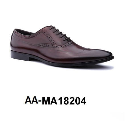 Genuine Leather Men's Dress Shoe - AA-MA18204