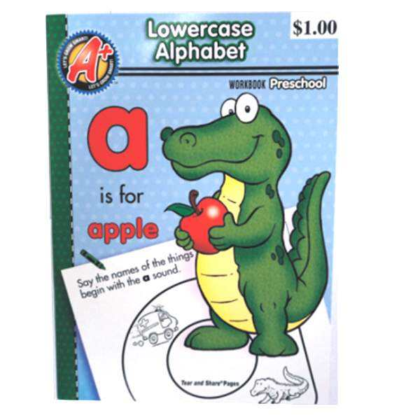 Kid's Workbook ABC Lowercase
