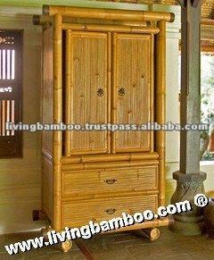 Salt Lake bambus kleiderschrank