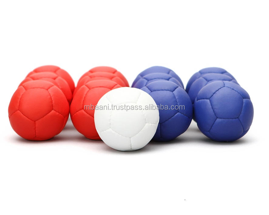 Boccia Ball Set With Carrying Bag Soft Medium Hard