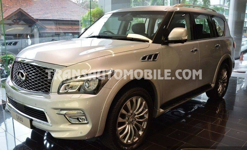 4x4 SUV & Station Wagon Infiniti QX80 LUXURY 5.6L เบนซิน/ESSENCE 4X4 RHD ใหม่