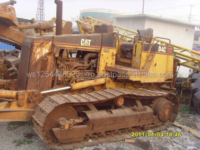 best low price used caterpillar d4c bulldozer