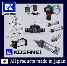 Koganei pneumatic rodless cylinder is long stroke and high-speed operation with great price. Made in Japan