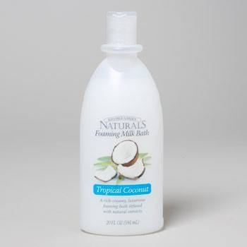 BUBBLE BATH TROPICAL COCONUT 20 OZ KISSABLE #80131