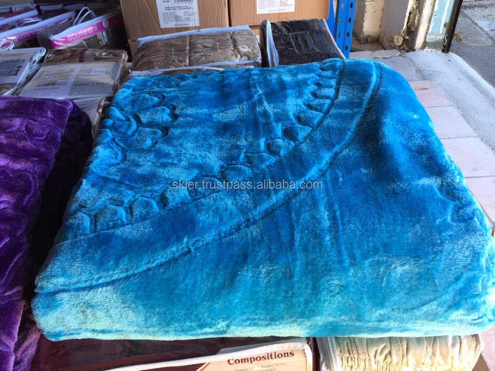 Donation Blankets 100% Polyester Very Cheap Prices Ready zu Ship
