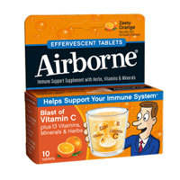 Airborne Effervescent Tablets With Vitamin C Triple Pack, 3/10 Tabs by Airborne