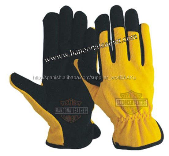 Guante de la mecánica para todos los <span class=keywords><strong>efectos</strong></span>, el propósito de todos los guantes de mecánico, general de trabajo guantes textiles