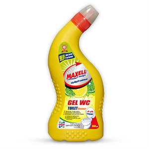 Maxell magic Lemon 500 ml WC gel Household Detergents Toilet Cleaner