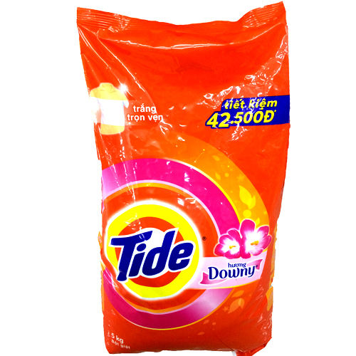 Tide downy laundry detergent powder from Vietnam