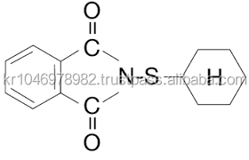 N-(Cyclohexyl Thio) Phthalimide (CTP PVI 抗灼熱エージェント) CAS 番号 17796-82-6