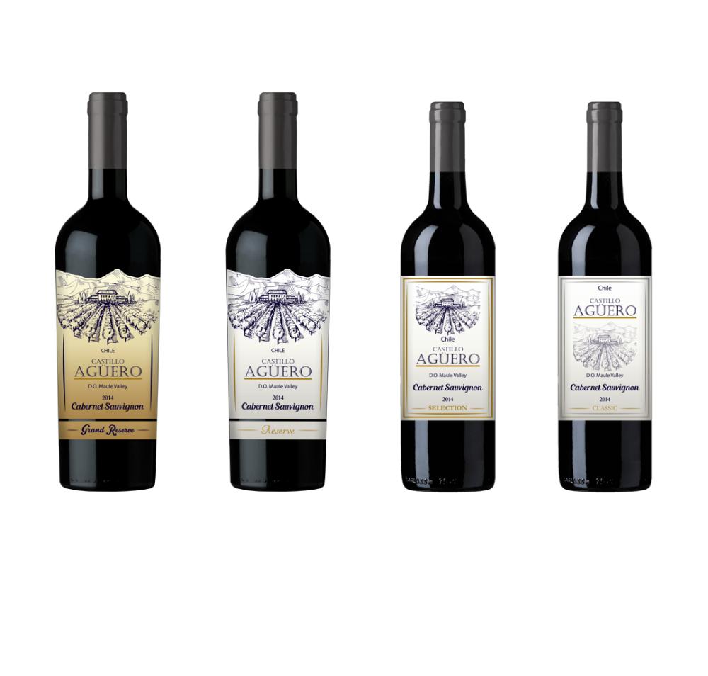 Ayun Wines Castillo Aguero Wine of Chile Maule Valley Cabernet Sauvignon