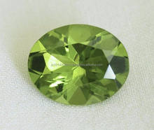AAA Peridot Stone Facets Gems Manufacture & supply wholesale Semi Precious Stones