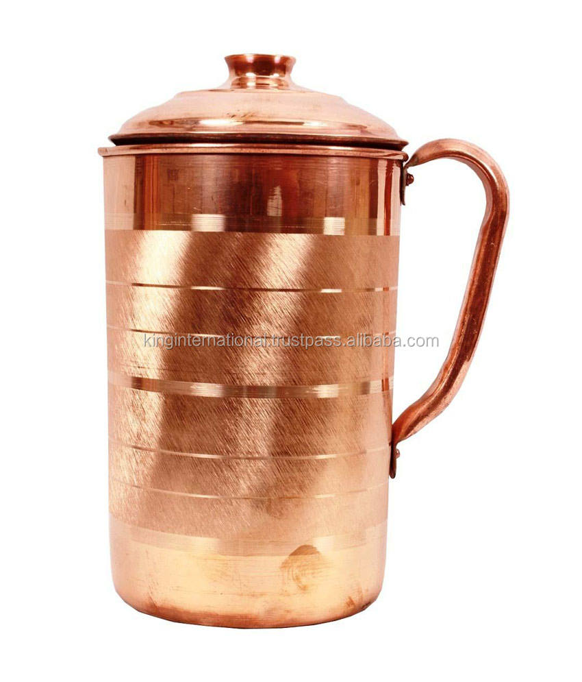 Copper water jug cool water jug antique brass jugs
