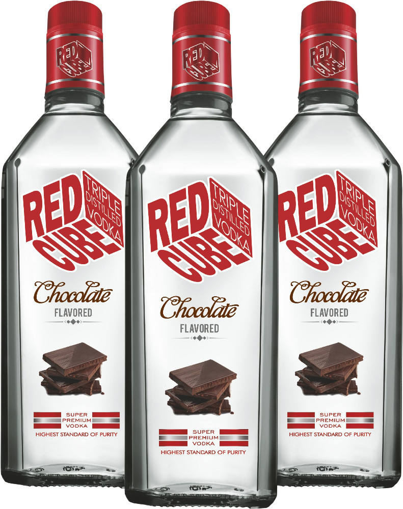 Red Cube Chocolate aromatizados Vodka