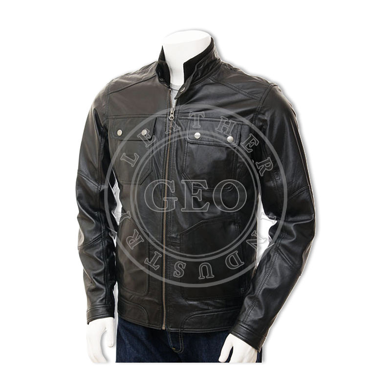 Latest Design Genuine Leather Jackets for Men