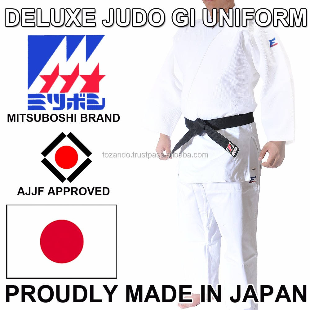 Premium Classic Quality Mitsuboshi Judo Uniform Dogi At Best Prices, OEM Available, Distributor Wanted