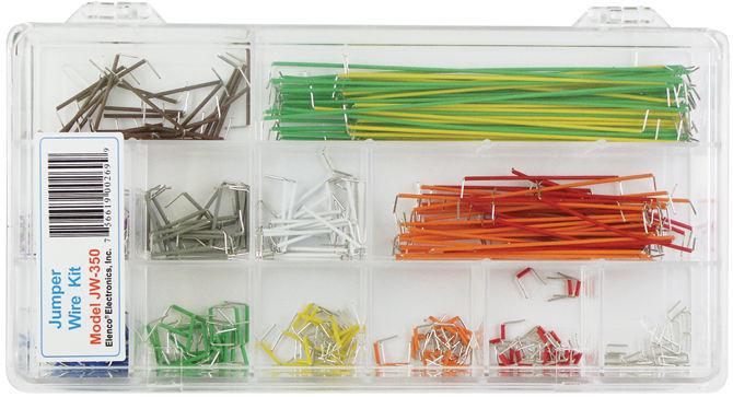 350 pcs. Preformed Jumper Wire Kit
