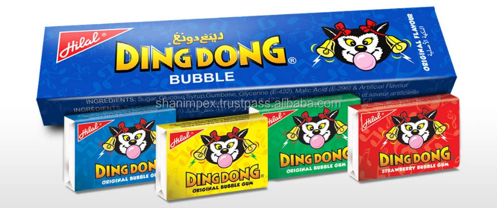 DING DONG ORIGINAL BUBBLE GUM