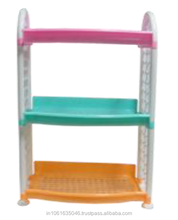 three layers plastic racks