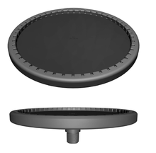 SSI ECD270-E Fine Bubble Disc Diffuser with EPDM Membrane