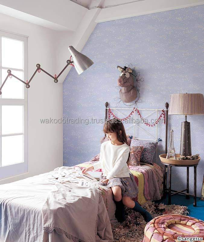 Safe Japan Made Wall Paper For Kids Room Glow In The Dark