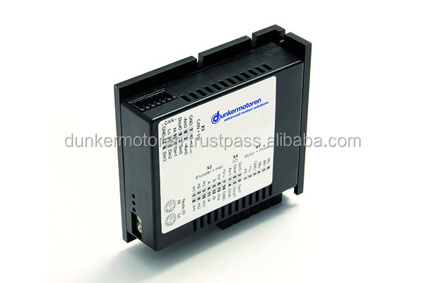 Dunkermotoren offer motors and gearboxes as well as control electronics and gateways.