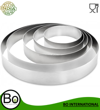 Stainless Steel Cake Ring 125 mm