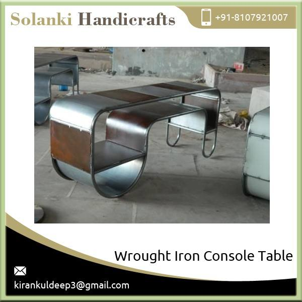 Exotic Chic Design Iron Console Table at Lowest Market Rate