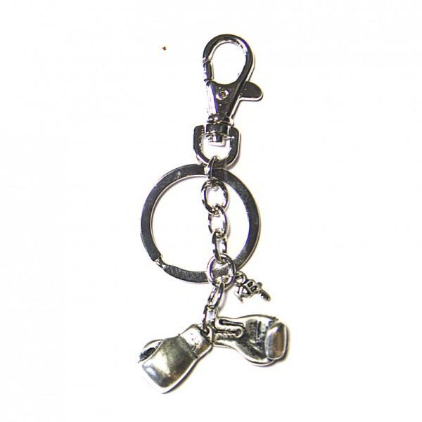 Metal Keychain Boxing Glove