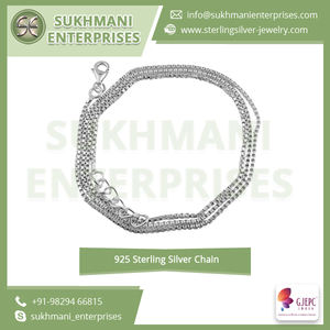 Wholesale & Custom 925 Sterling Silver Thick Box Chain Jewelry