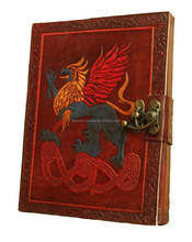 100% Cotton Recycled Paper American Griffin Handmade Journal