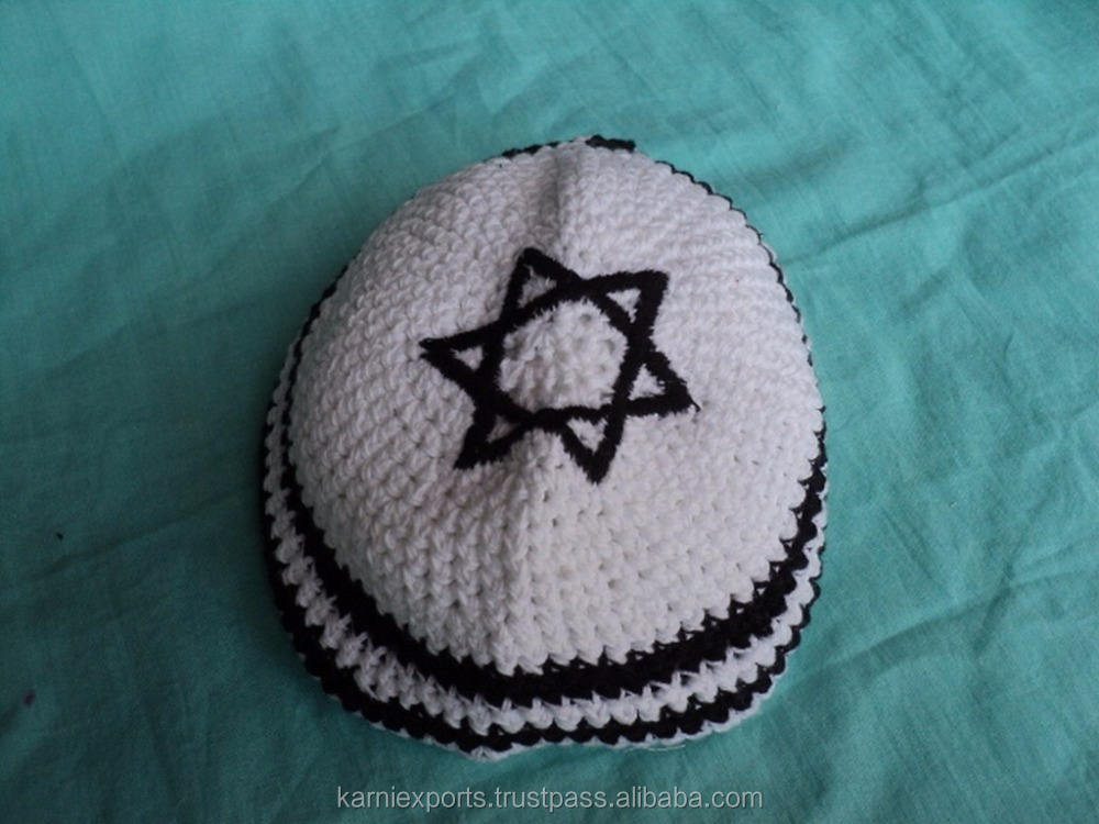 Plain Style and Printed Pattern tube caps muslim kippah / Knitting Method Cap making Machine Jewish