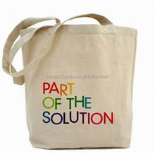 CUSTOM PRINTED COTTON CANVAS BAGS
