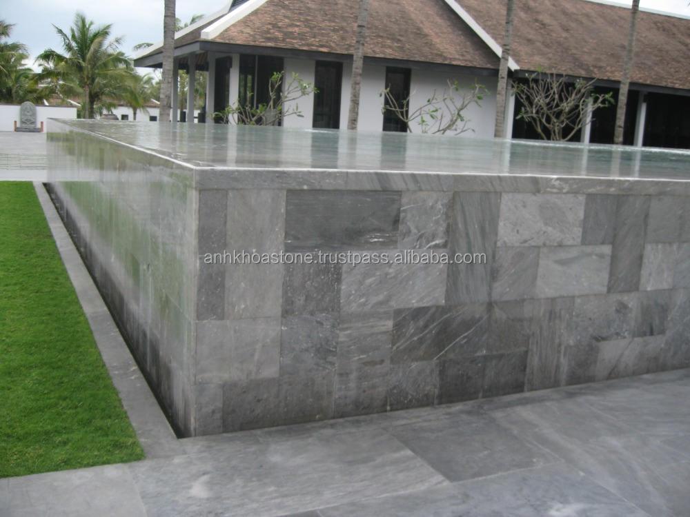 Вьетнам bluestone асфальтоукладчики, bluestone тротуарной плавательный бассейн края все размер