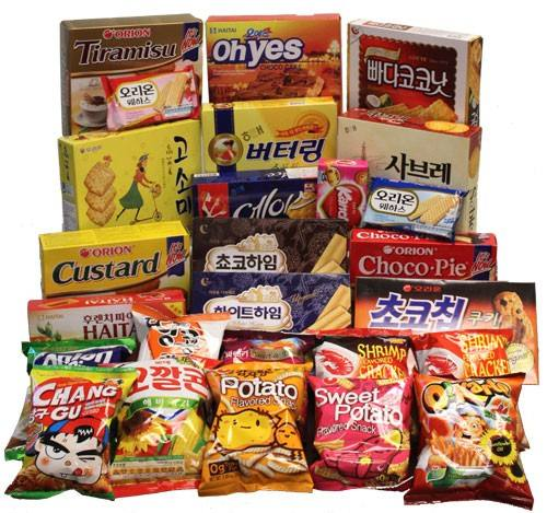 Korean snack wholesale update 2021OEM