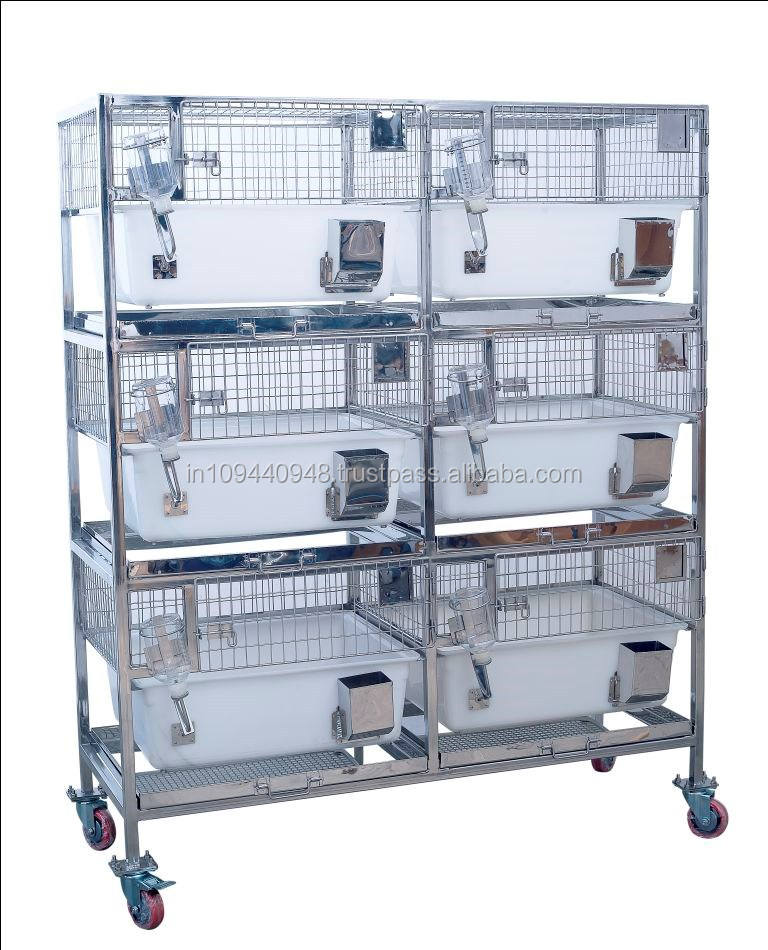 Trolley dengan Built-In Polypropylene Kelinci Kandang