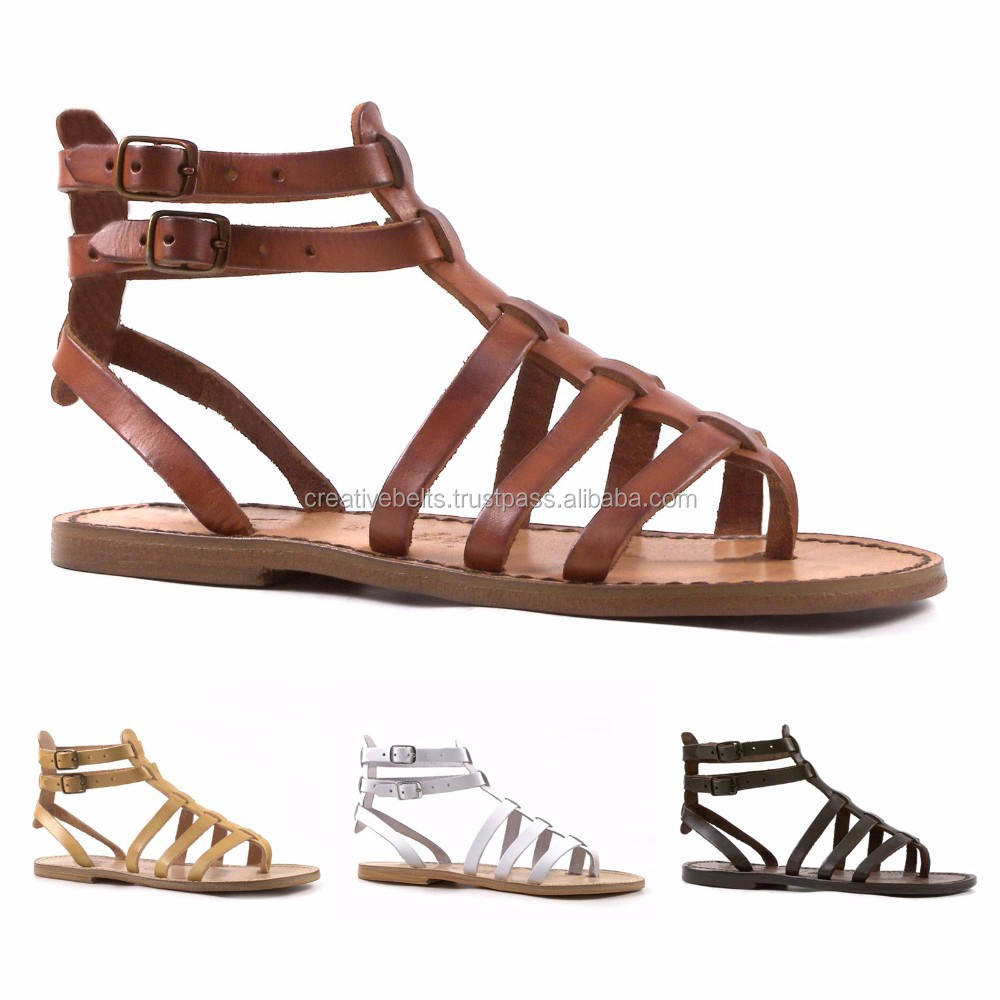 Gladiator Leather Sandals for Womens Latest Style Boho Leather