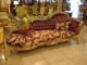 french style gold foil antique chaise lounge