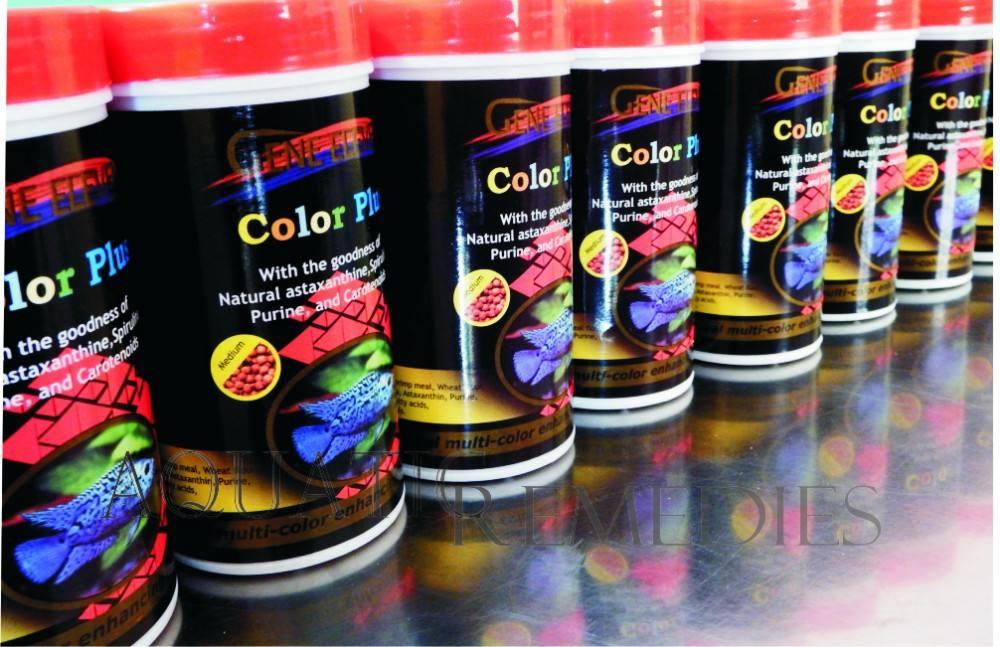 Görünür renk arttırıcı sonuçlar elde 14 gün içinde- akvaryum balık yemi renk artı yüksek kaliteli malzemelerle