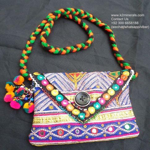 <span class=keywords><strong>BANJARA</strong></span> TRABAJO HECHO A MANO ÉTNICA BOLSA tribal vendimia-663