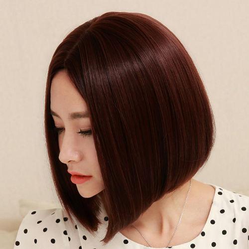 Marrón de la castaña Color de pelo en 100 gramos de estilo del embalaje