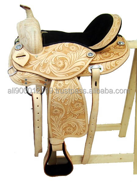 Western treeless saddle Treeless saddle