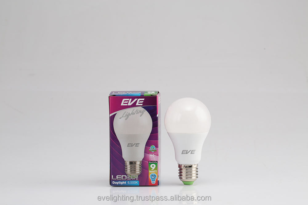 Eve LED Lamp A60 bulb 5W/7W/9WLED super save lamp( 12000 hrs life time)
