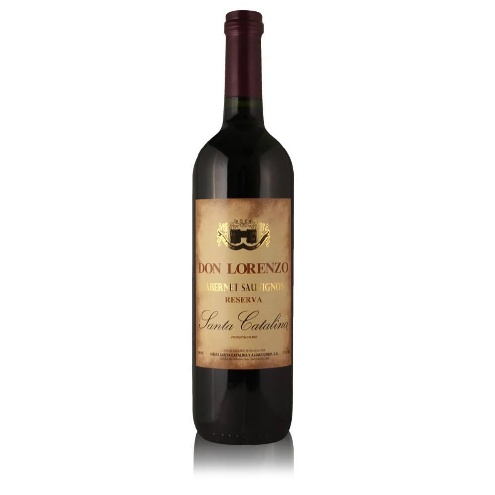 Cabernet Sauvignon Reserva Don Lorenzo red wine