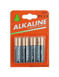 Batterie Duracell AA x 4 (Albero Pack)